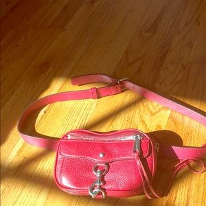 Rebecca Minkoff Red Belt Bag
